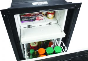Coolmatic CRD 50 open fridge freezer
