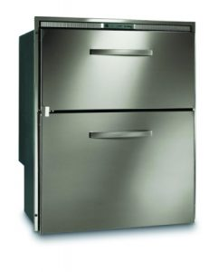 DW210 182L drawer fridge feezer stainless steel