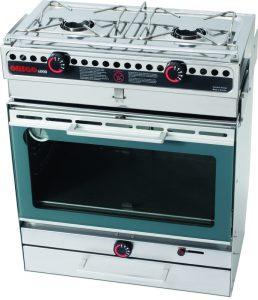 Origo 6000 stove and oven